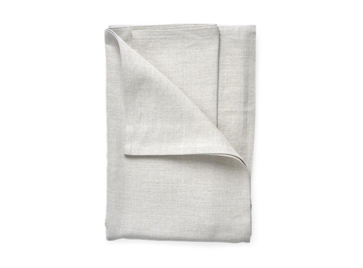 Ardel Linen Bedspread Large Natural_Top Folded