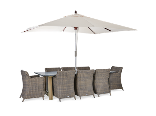 Stanway Bluestone and Stanway with Parasol
