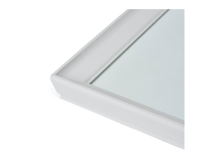 Chichester 124 Rectangular Mirror - Small 4
