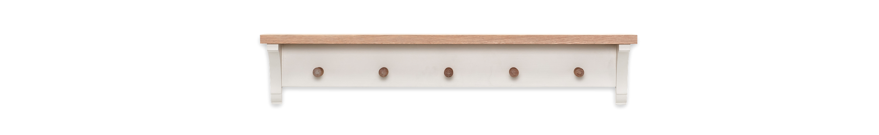 Suffolk 3ft Coat Rack Silver Birch Front
