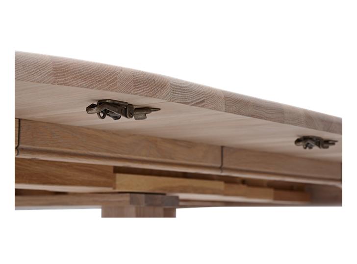 Sheldrake 110-270 Extending Table_Seasoned Oak_Detail 1