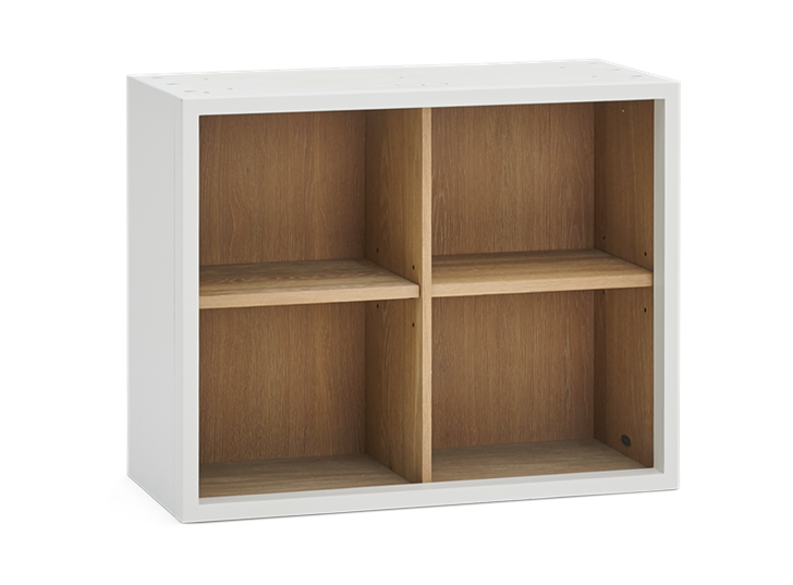 Chawton 71.5 Top Cabinet - Open - Snow