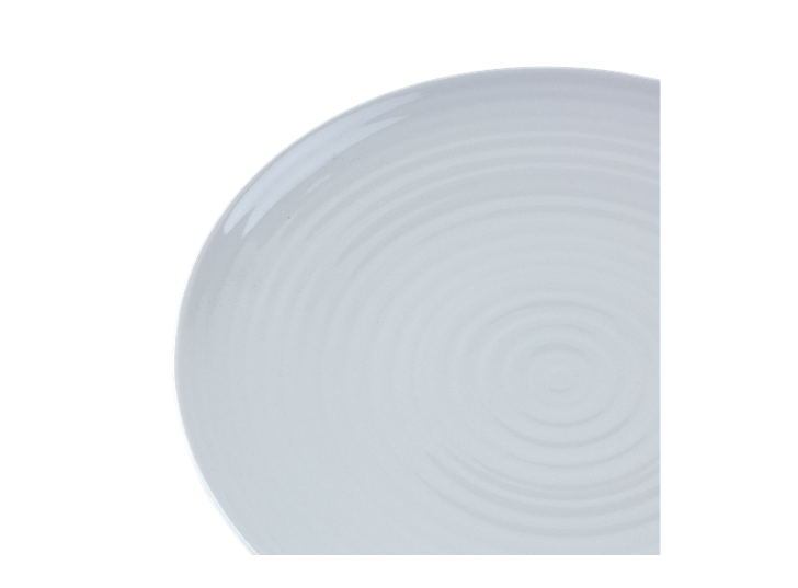 Lewes Serving Platter Grey_Detail