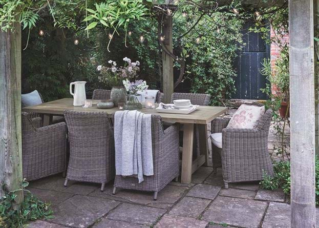 Stanway Teak and Stanway Dining Set
