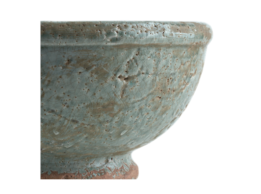 Broseley Footed Pot Moss_Detail