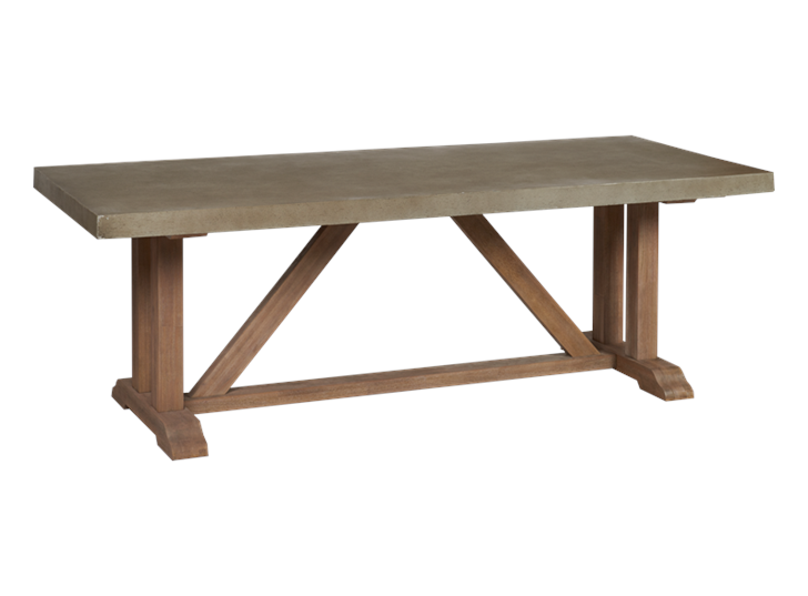 Hove six-seater rectangular table