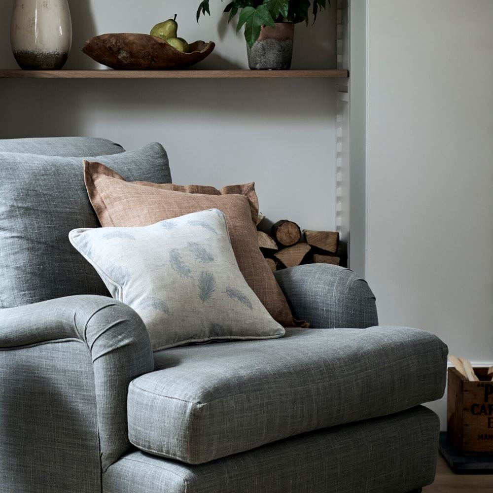 Beatrix scatter cushion on armchair