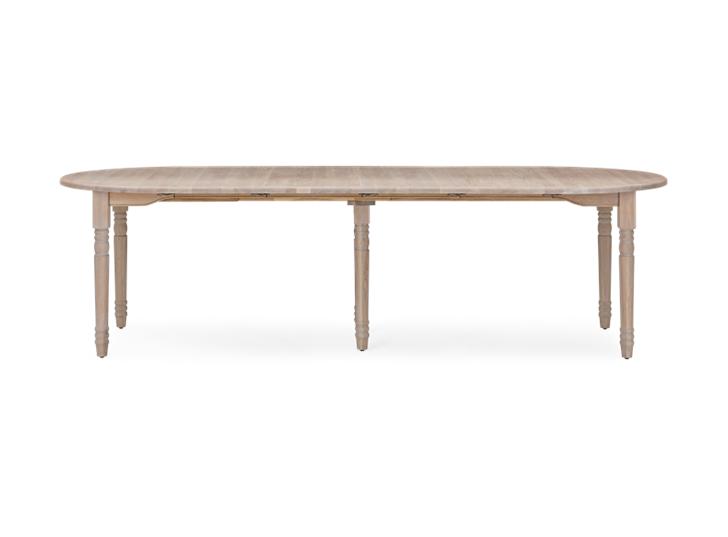 Sheldrake 110-365 Extending Table_Seasoned Oak_FrontExtended