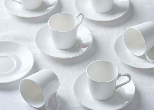 Fenton Espresso Cup & Saucers