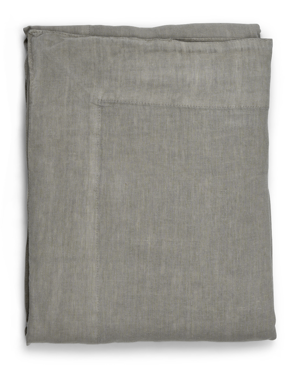 Emily Linen Tablecloth Mist_Top
