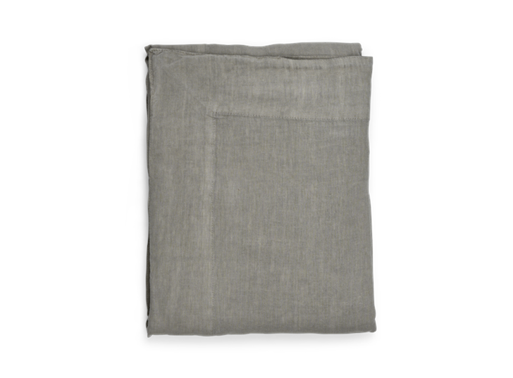 Emily Linen Tablecloth Mist_Top