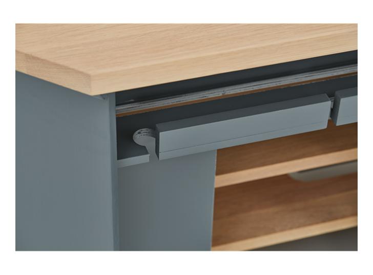 Henley 4ft AV Corner Cabinet Detail 05