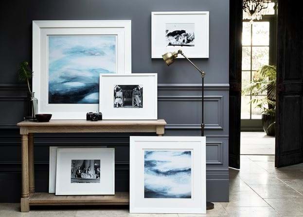 Print gallery hallway