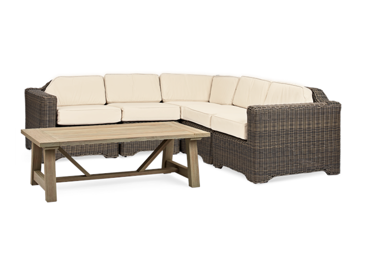 Tresco Modular 5 Seater Set with Stanway Coffee Table