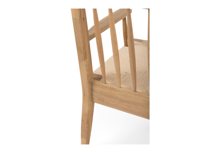 Wycombe, rush spindleback armchair, detail-3 copy