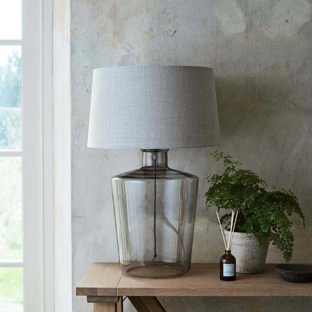 Castleford Large Lamp with Lucile Harry Cloud Shade