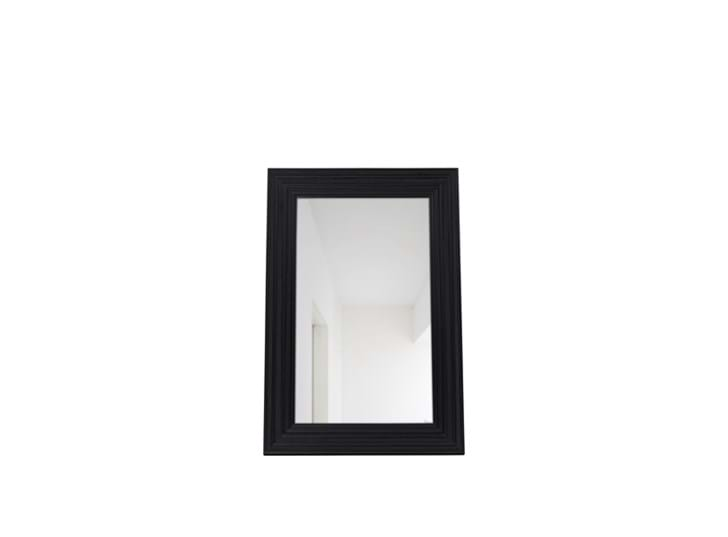 Kintbury 120 Rectangular Mirror Black_Front PR