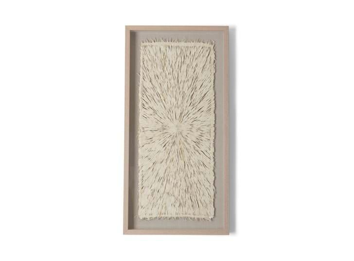Overton paper art, rectangle, front