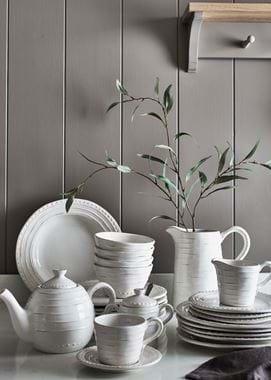 Bowsley Teapot - White