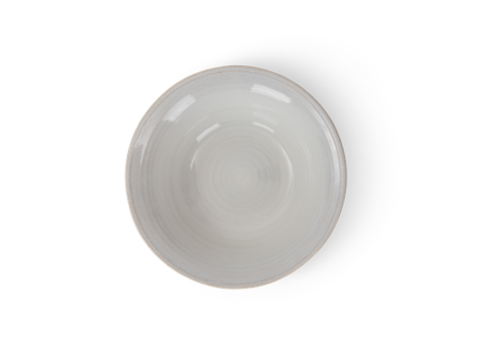 Sutton serving bowl, large, off white, above
