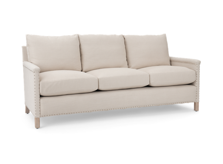 Casper 3 seater, hugo pale oak, 3quarter copy