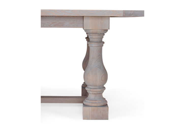 Balmoral 320 Rectangular Table_Seasoned Oak_Detail 3