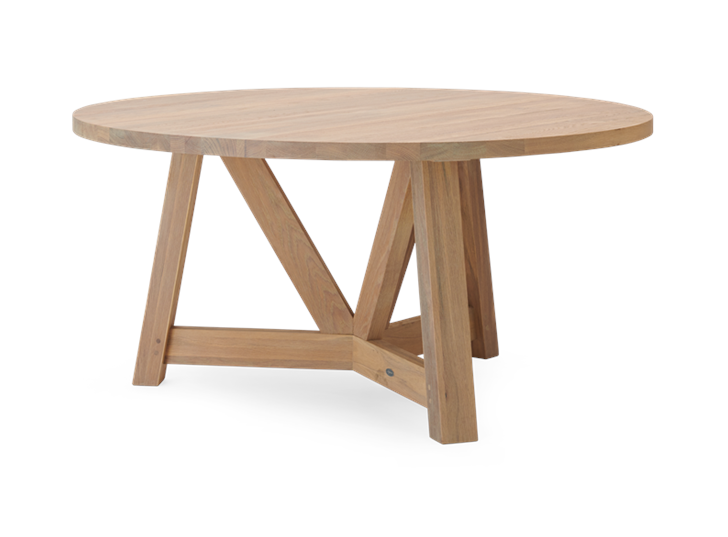 Arundel 150 Table Natural Oak_3Quarter