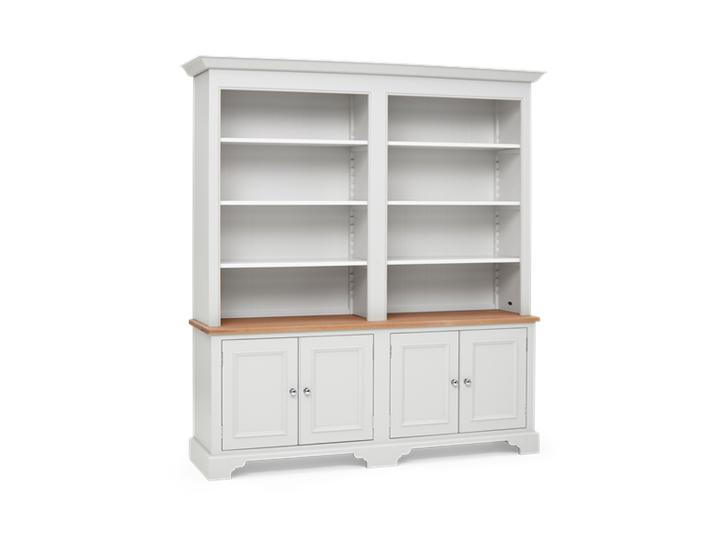 Chichester 6ft Grand Bookcase Open Rack Shingle-Shingle 3Q copy