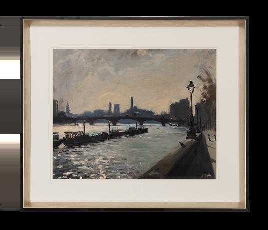River Thames - Chelsea Embankment - front