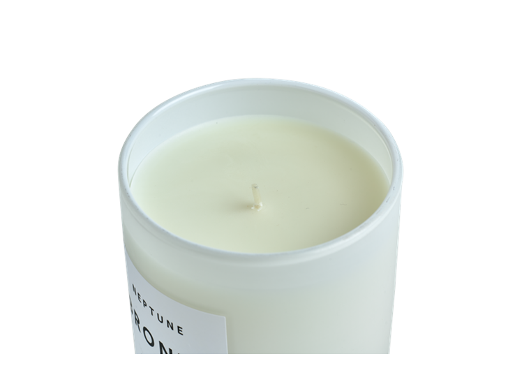 Bronte Amber Scented Candle, White D