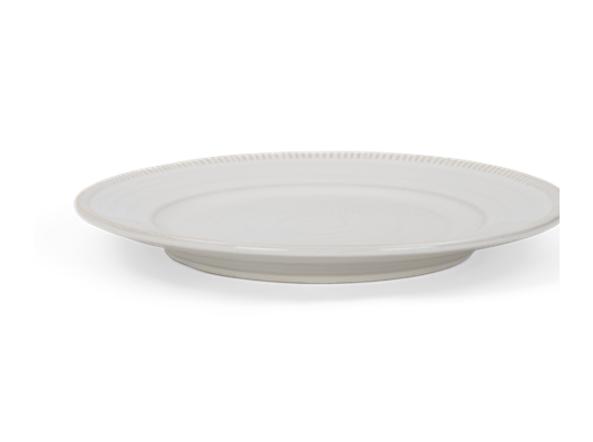 Sutton side plate, off white, rim copy