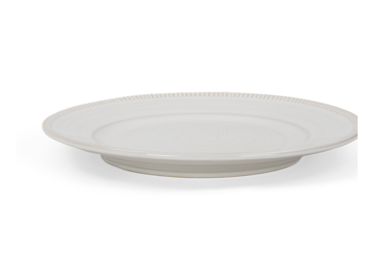 Sutton side plate, off white, rim copy