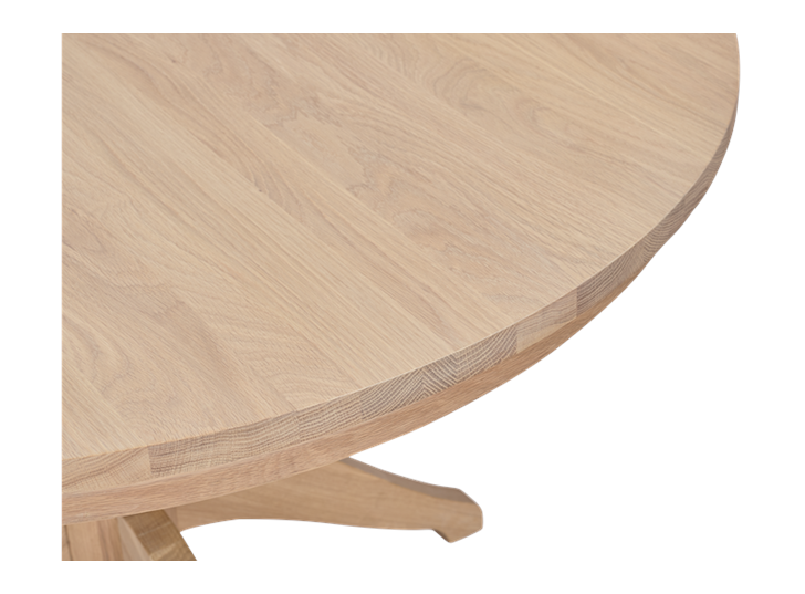 Henley 120 Round Table_Oak_Detail 4