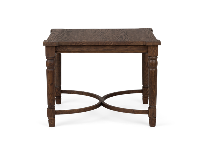 Blenheim, square low side table 60, front copy