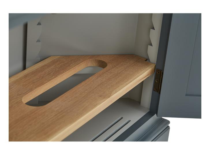 Henley 3ft 6in AV Corner Cabinet Detail 03