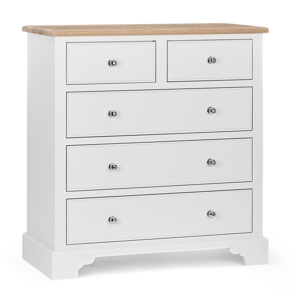 Chichester_Tall Chest of Drawers_Shell_3Quarter