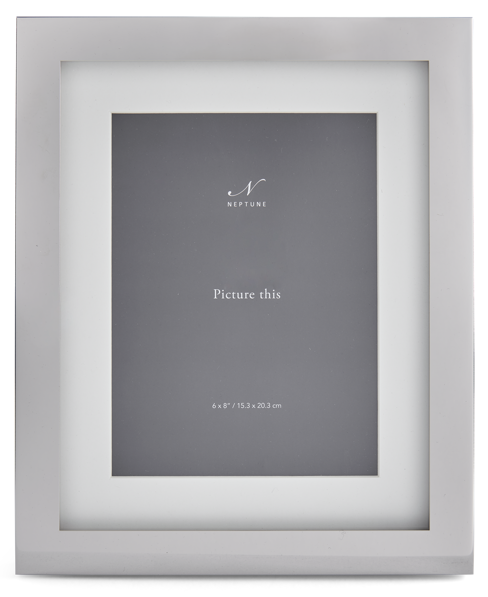 Newton 6x8 Silver Plated Photo Frame 1