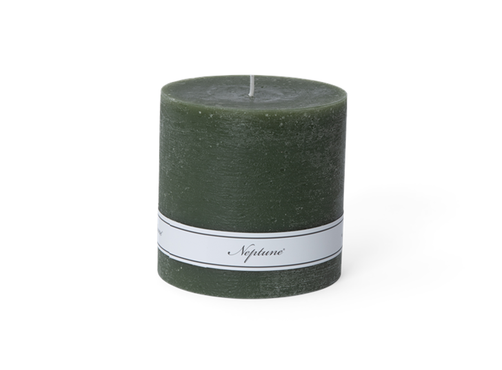 Blyton Candle Olive 10x10, front