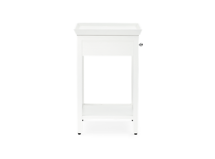 Aldwych tall side table Snow side