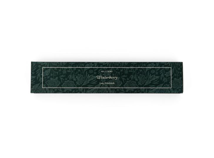Winterberry long matchsticks - top
