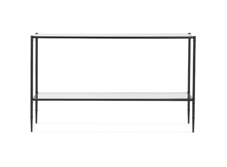 Coniston 120 Rectangular Console Table Black Bronze_Front