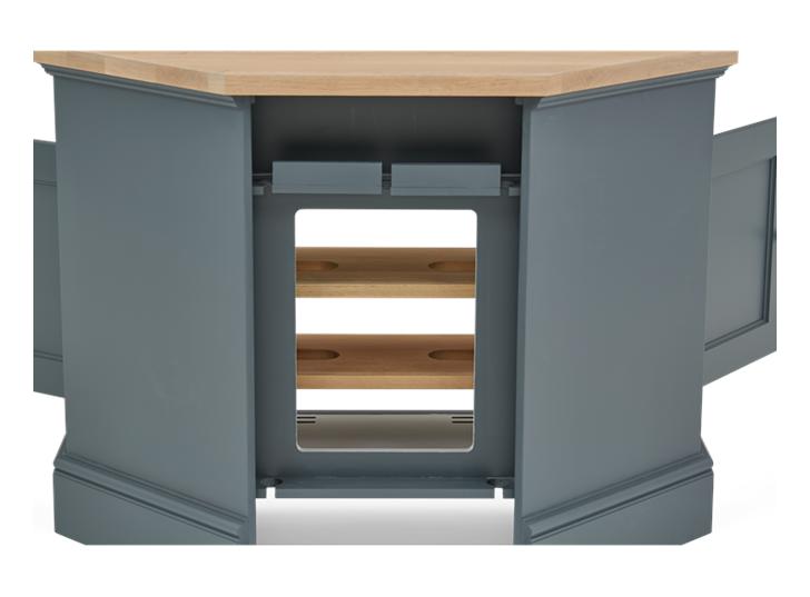 Henley 3ft 6in AV Corner Cabinet Detail 05