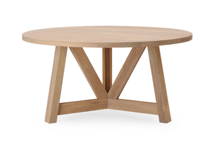 Arundel 150 Table Natural Oak_Side