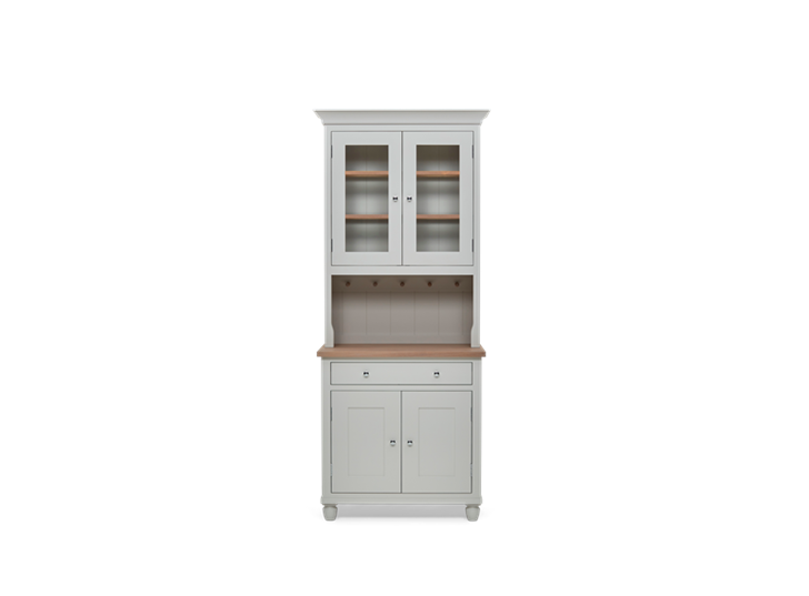 Suffolk 3ft glazed Dresser Silver Birch Front Closed ┬® Robert Smith 2020