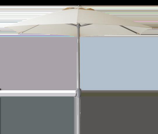 Staysail 2.5m Round Parasol Cobble