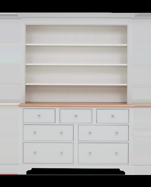 Chichester 5ft Open Rack Grand Dresser Top Front