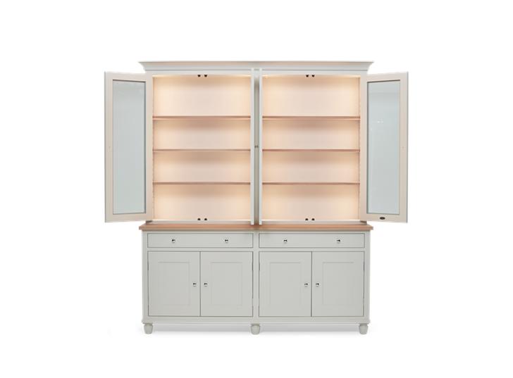 Suffolk 6ft Contemporary Dresser Silver Birch Front Open Lights ┬® Robert Smith 2020