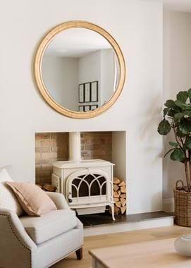 Fleming round Gilt mirror