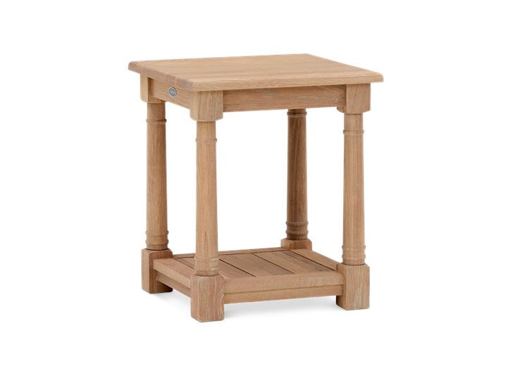 Edinburgh 42 Square Lamp Table Oak 3Qbb