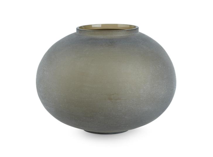 Alconbury Round Vase Large Grey_Front
